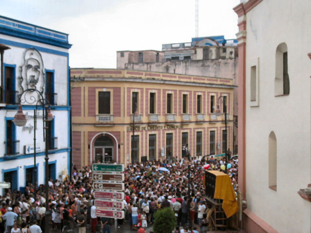 Easter Procession in Camaguey, Cuba